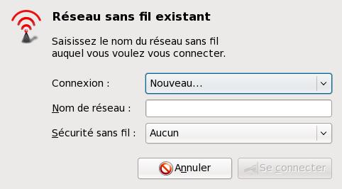 Nouveau NetworkManager